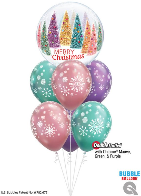 Bukiet 1099 Season's Greetings Qualatex #14839 79210-6 58273-2 58275-2 58274 82699