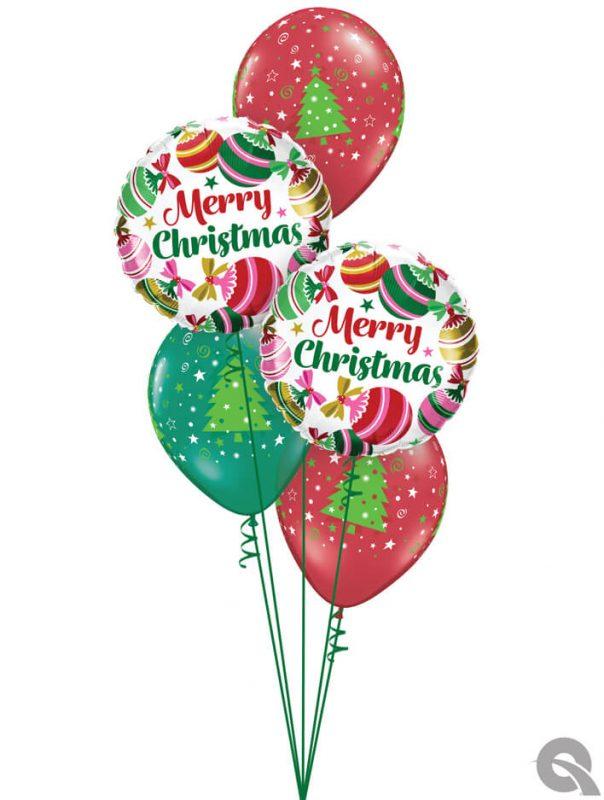 Bukiet 1092 Make it Merry! Qualatex #15025-2 52964-3