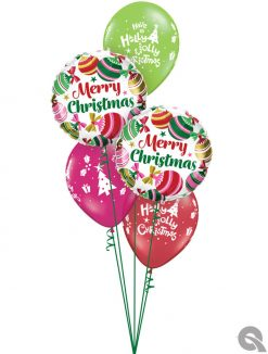 Bukiet 1086 Jingle Jangle All The Way! Qualatex #15016-2