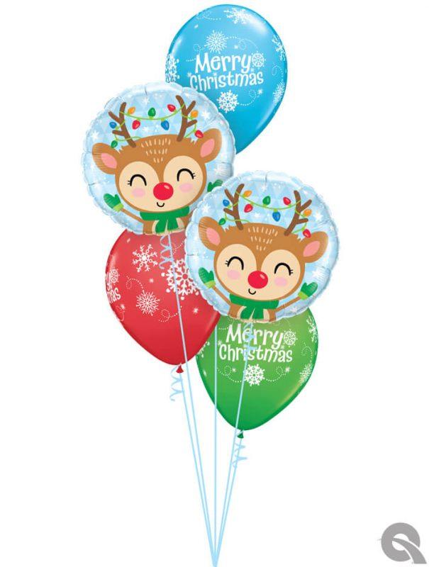 Bukiet 1093 Wishing You All The Magic of The Season! Qualatex #15019-2 55239-3
