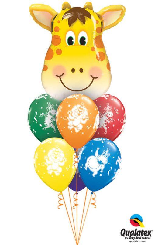 Bukiet 1062 Jolly Giraffe Qualatex #16095 18459-6