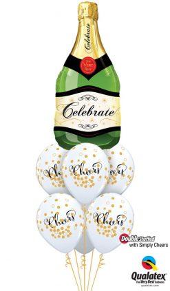 Bukiet 1110 Cheers to You! Qualatex #16122 90992-6 56844-6