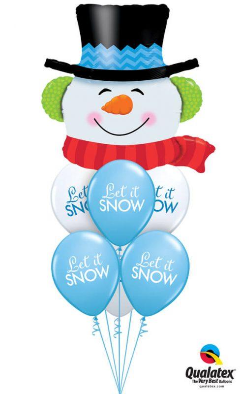 Bukiet 1084 Snow Day Fun Qualatex #19040 97346-6