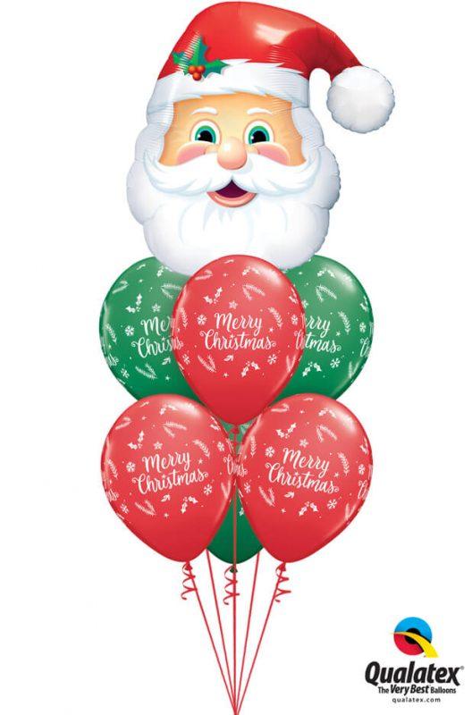 Bukiet 1085 Santa's Coming to Town! Qualatex #20566 97348-6