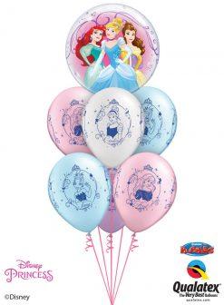 Bukiet 1078 Disney Princess Trio Bouquet Qualatex #46725 18679-6