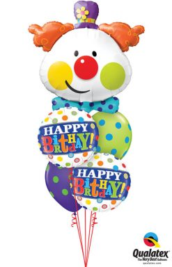 Bukiet 1052 Hahaha-Happy Birthday! Qualatex #49403 49047-2 10240-2