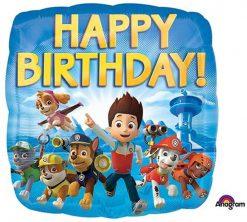 "17"" / 43cm Paw Patrol Happy Birthday Anagram #30180"