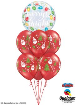 Bukiet 1098 Christmas is Coming! Qualatex #89736 40571-6