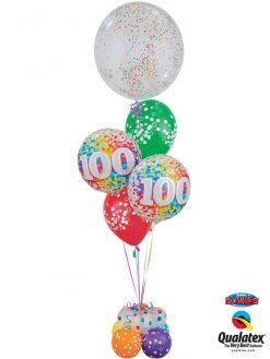 Bukiet 1136 Confetti Celebration 100 Qualatex#57791 49565-2 52964-6
