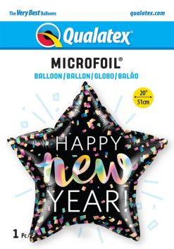 20″ / 51cm New Year Iridescent Qualatex #14982