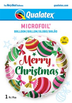 18″ / 46cm Christmas Ornaments & Stars Qualatex #15016