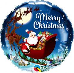18″ / 46cm Christmas St. Nick Qualatex #15040