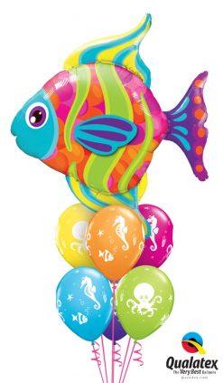 Bukiet 1140 Fun Colorful Fish Qualatex #16448 28983-6