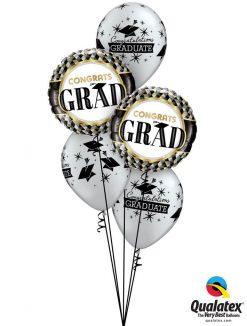 Bukiet 1195 Classy Grad Qualatex #55836-2 57110-3