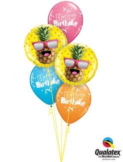 Bukiet 1151 Pineapple Birthday Fun Qualatex #57271-2