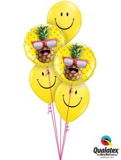 Bukiet 1150 Cool as a... Pineapple!? Qualatex #57271-2 85986-3