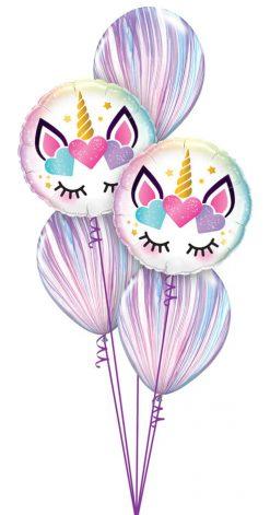 Bukiet 1157 Wonderful Unicorn Eyes Qualatex #97399-2 39923-3