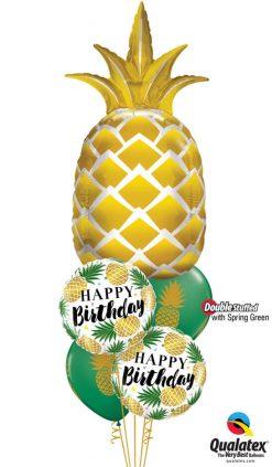 Bukiet 1139 Stay Golden Birthday Qualatex #57362 57277-2 57552-2 43750-2