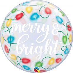 "22"" / 56cm Merry & Bright Lights Qualatex #89736"