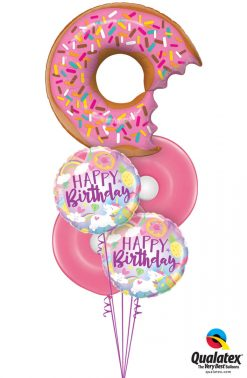 Bukiet 1267 Sweet Magical Birthday Qualatex #57357 88010-2 33299-2 43607-2