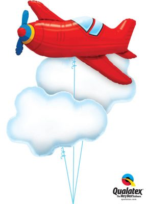 Bukiet 1256 Flyin' High in the Sky Qualatex #57811 78553-2