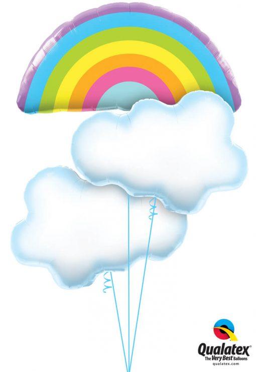 Bukiet 1255 Shinin' Through the Clouds Qualatex #78556 78553-2